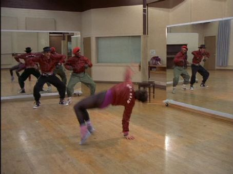 Lucinda Dickey Movie stills and screen captures from the 1984 film Breakin'