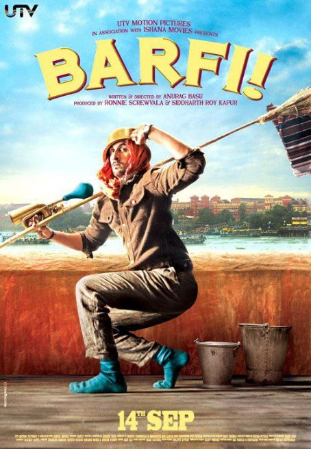 Ranbir Kapoor - Barfi! poster stills 2012 Movie