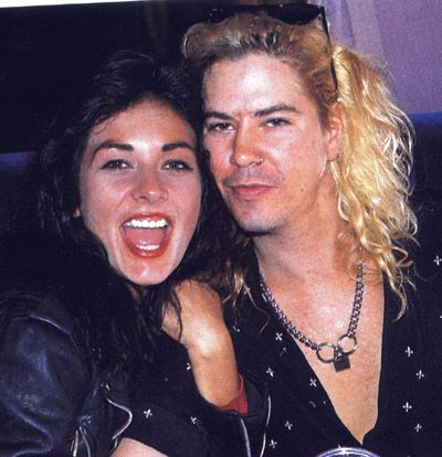 Duff McKagan and Linda Johnson