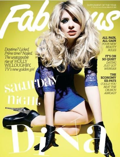 Holly Willoughby - Fabulous Magazine Cover [United Kingdom] (23 March 2012)