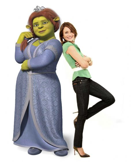 "Princess Fiona CAMERON DIAZ voices Princess  Fiona in  DreamWorks ""Shrek the Third,"" to be released by Paramount  Pictures in May  2007. DreamWorks Animation S.K.G. Presents a PDI/DreamWorks Production,  DreamWorks ""Shrek the Third."" Photo Credit"