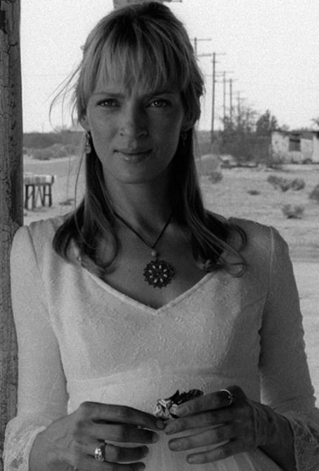 Uma Thurman - Black And White