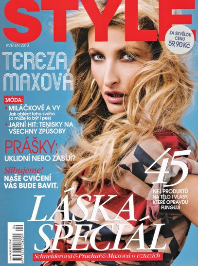 Tereza Maxova - Style Magazine [Czech Republic] (May 2010)