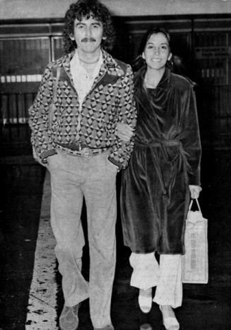 George Harrison - George and Olivia Harrison