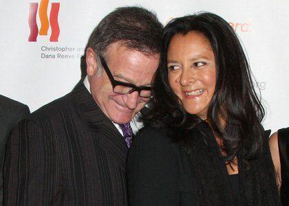 Marsha Garces Williams Marsha Garces and Robin Williams