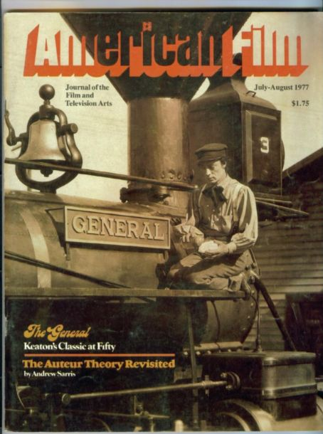 Buster Keaton - American Film Magazine [United States] (July 1977)