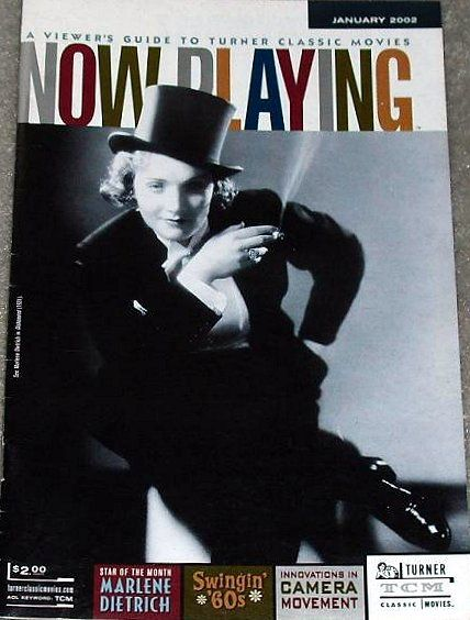 Marlene Dietrich - Now Playing Magazine [United States] (January 2002)