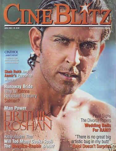 Hrithik Roshan - Cinéblitz Magazine [India] (April 2008)