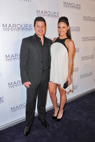 Nick Lachey,Vanessa Minillo Opening Party of Marquee night club at- The Star in Pyrmont