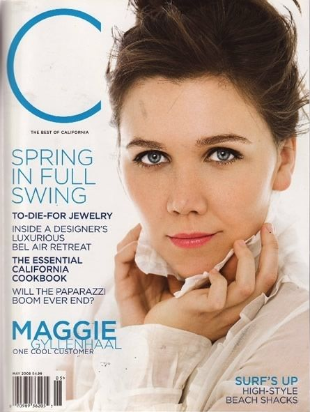 Maggie Gyllenhaal - California Style Magazine Cover [United States] (May 2008)