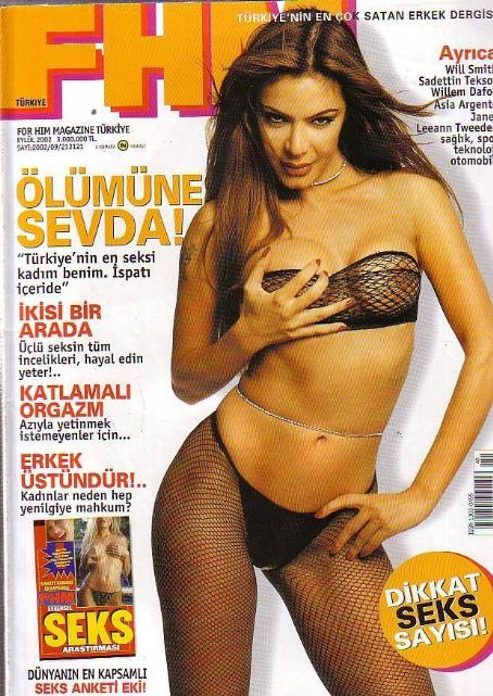 Sevda Demirel - FHM Magazine Cover [Turkey] (September 2002)