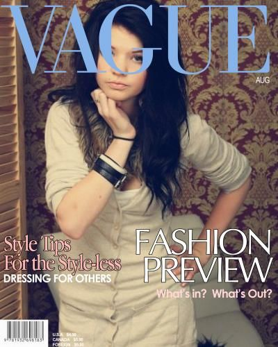 Leonie Kranzle - Vogue Magazine Cover [Germany] (12 May 2011)