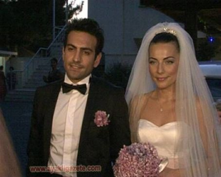 Bugra Gülsoy Burcu Kara and  Gey Married