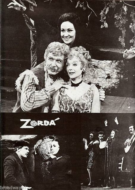 Chita Rivera JOHN RAITT ''IS'' ZORBA! 1968 NATIONAL TOUR
