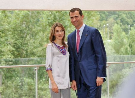 Eva Sannum Crown Prince Felipe Of Spain and
