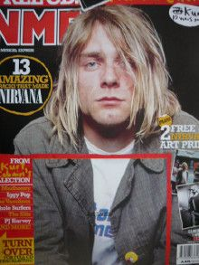Kurt Cobain - New Musical Express Magazine Cover [United Kingdom] (3 April 2004)