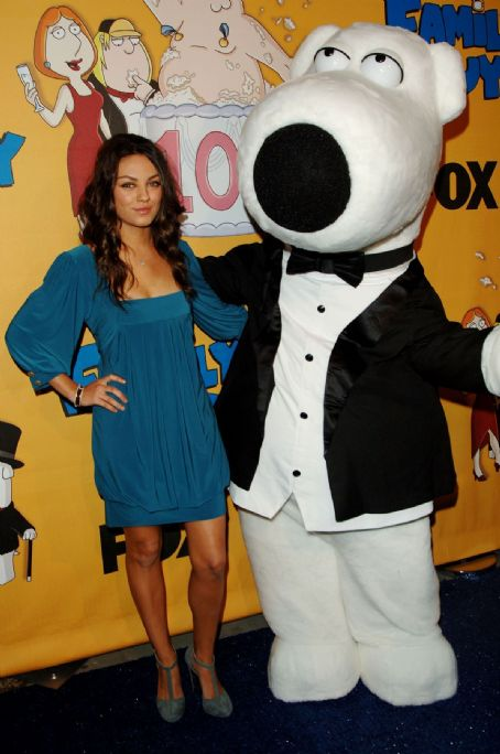 Family Guy Mila Kunis - 's 100th Episode Party - Oct 29 2007