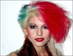 Dale Bozzio of MIssing Persons 1980's