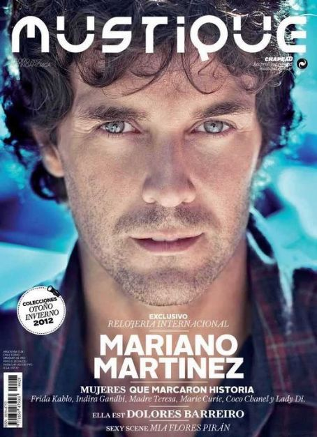 Mariano Martínez - Mustique Magazine Cover [Argentina] (March 2012)