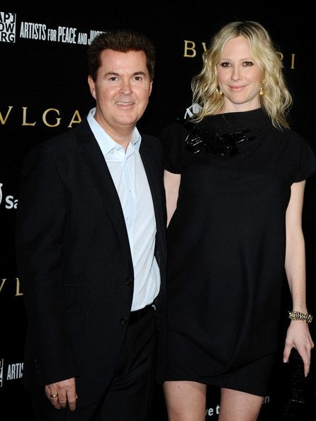 Simon Fuller  and Natalie Swanston