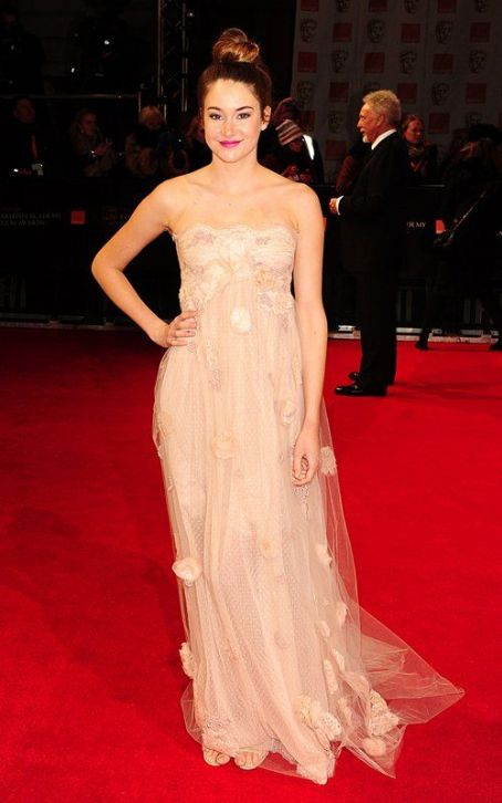 Shailene Woodley: 2012 BAFTA Beauty