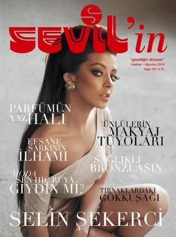 Selin Sekerci - Sevil'in Magazine Cover [Turkey] (August 2010)