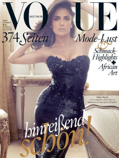 Salma Hayek Vogue Germany September 2012