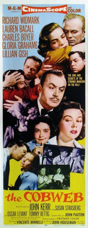 The Cobweb (1955) Poster