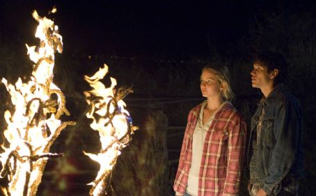 Jennifer Lawrence  and J.D. Padro in THE BURNING PLAIN, a Magnolia Pictures release. Photo courtesy of Magnolia Pictures.
