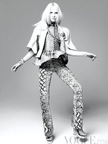Ginta Lapina Vogue Mexico April 2012