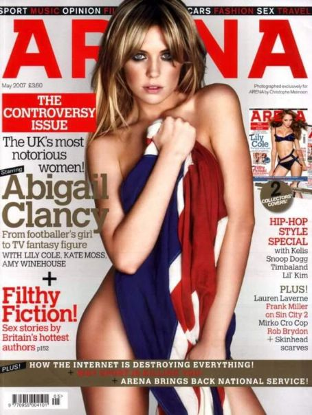 Abigail Clancy - Arena Magazine [United Kingdom] (May 2007)