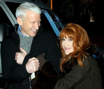Anderson Cooper and Kathy Griffin