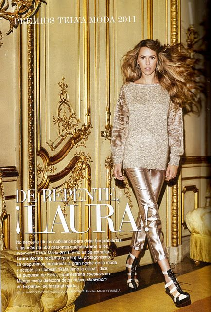 Laura Vecino  - Telva Magazine Pictorial [Spain] (December 2011)