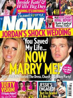 Katie Price - Now Magazine Cover [United Kingdom] (3 May 2011)