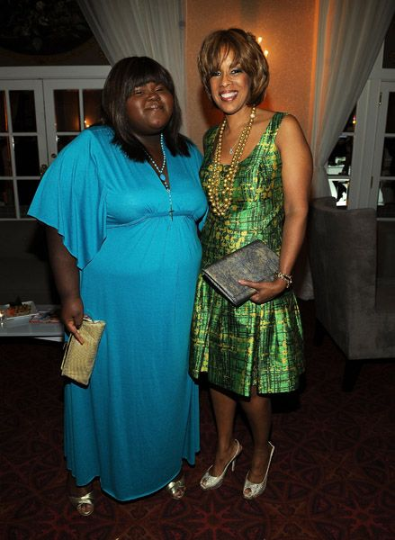 Gabourey Sidibe and Gayle King