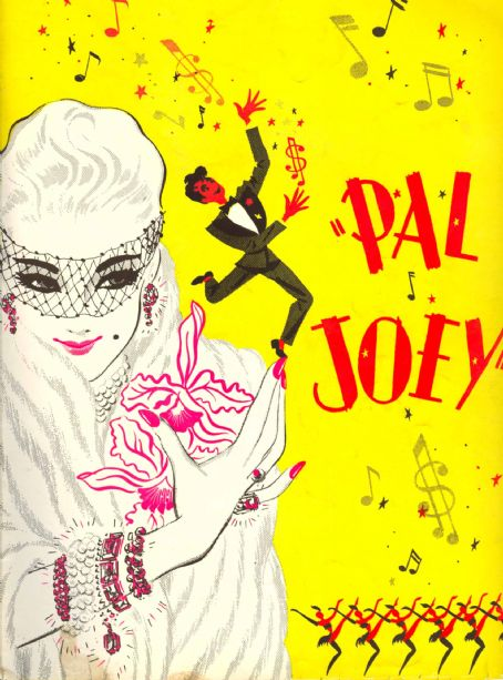 Richard Rodgers Pal Joey 1940 Theatre Program