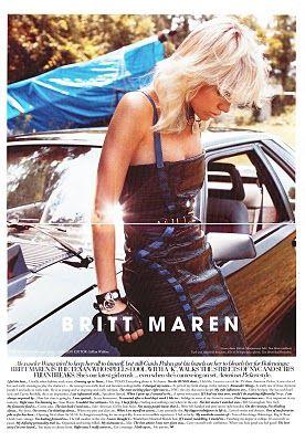 Britt Maren  - RUSSH Magazine Pictorial [Australia] (October 2011)