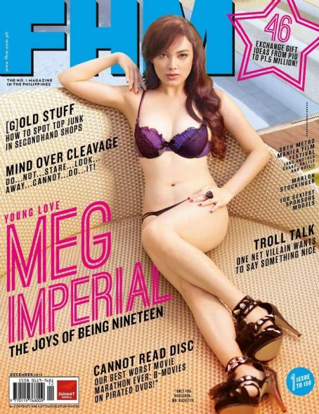 Meg Imperial  FHM Philippines December 2012