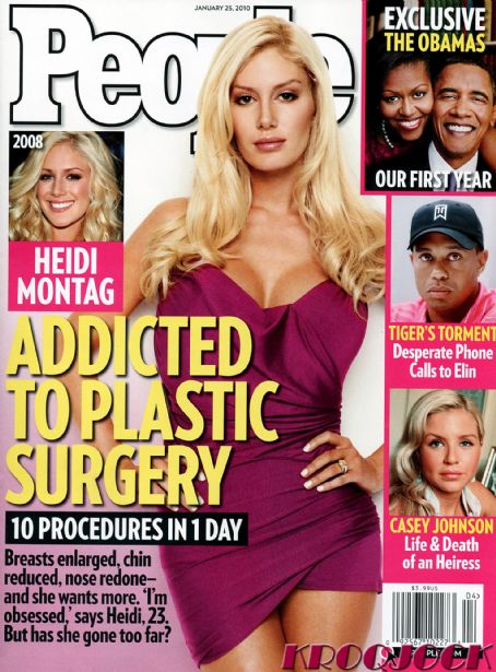 Heidi Montag - People Magazine [United States] (25 January 2010)