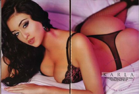 Karla Prime Hot Babes  Blackmen Usa April 2011