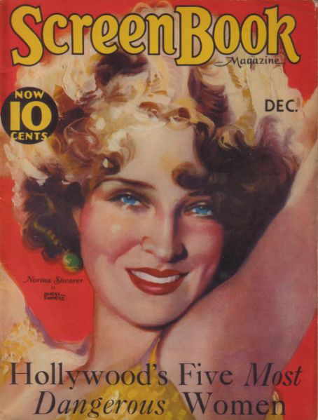 Norma Shearer - Screen Book Magazine [United States] (December 1931)