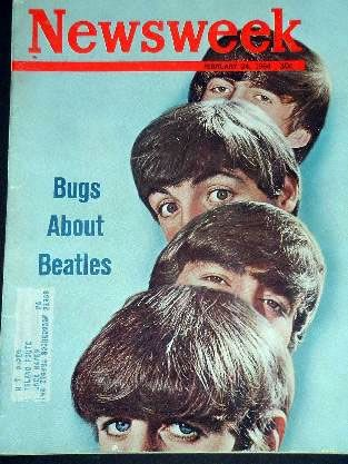 John Lennon - Newsweek Magazine [United States] (24 February 1964)
