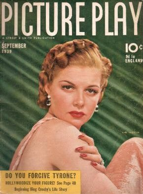 Ann Sheridan - Picture Play Magazine [United States] (September 1939)