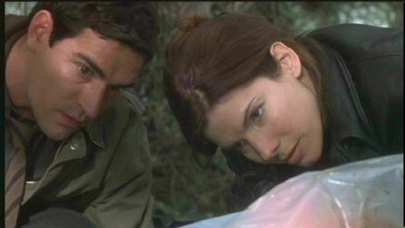 Ben Chaplin and Sandra Bullock in Murder By Numbers.