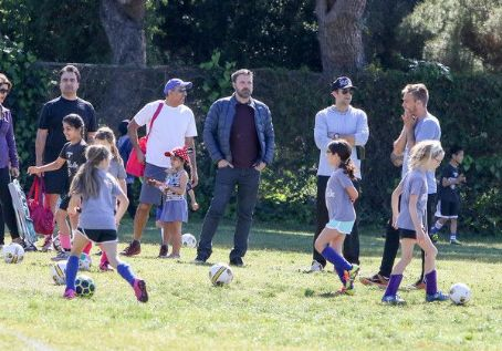 Ben Affleck spotted at his daughter  soccer game on Saturday April 1st, 2017 in Santa Monica, CA