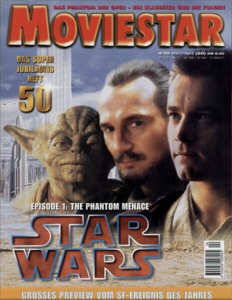 Liam Neeson - Movie Star Magazine [Germany] (April 1999)