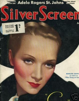 Marlene Dietrich - Silver Screen Magazine [United States] (June 1933)