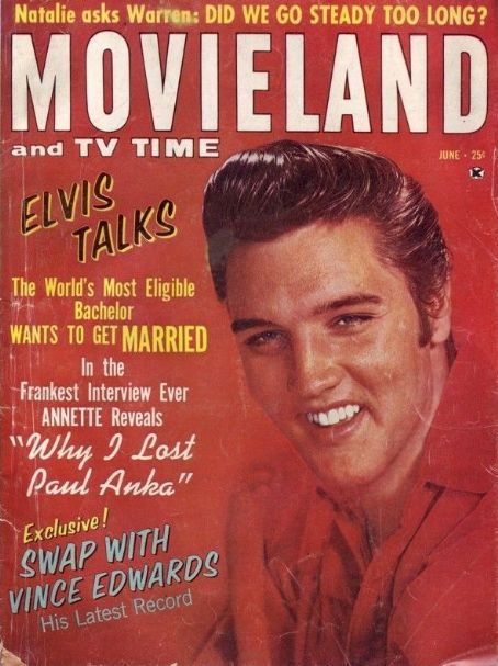 Elvis Presley - Movieland Magazine [United States] (June 1963)