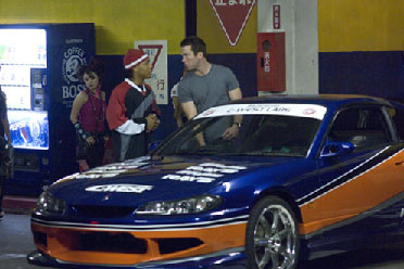 Twinkie Shad 'Bow Wow' Gregory Moss and Lucas Black in Universal Pictures' The Fast and the Furious: Tokyo Drift - 2006