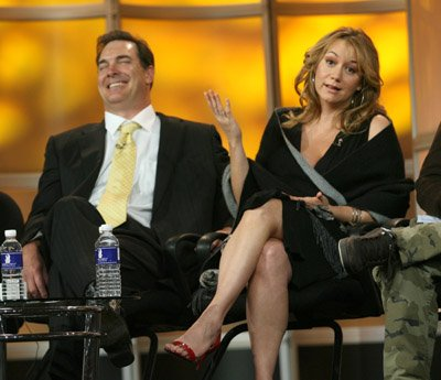 Megyn Price CBS Winter 2007 TCA Press Tour